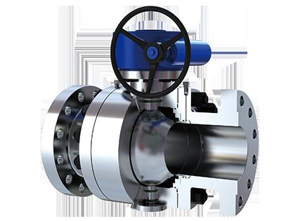 美国米勒高温球阀采用球体与阀座是经过特殊工艺处理的,根据不同工况图片